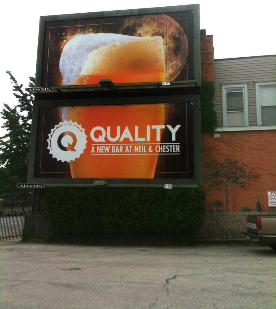 A Quality billboard