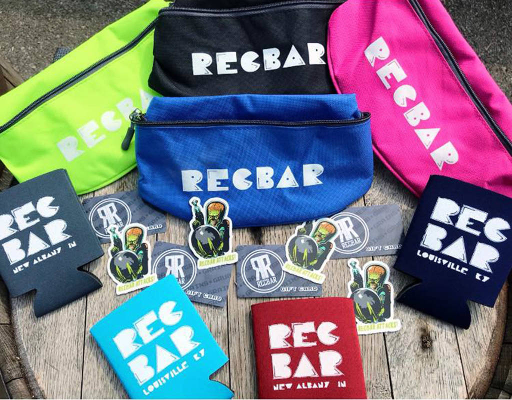 Recbar-branded merchandise is also available