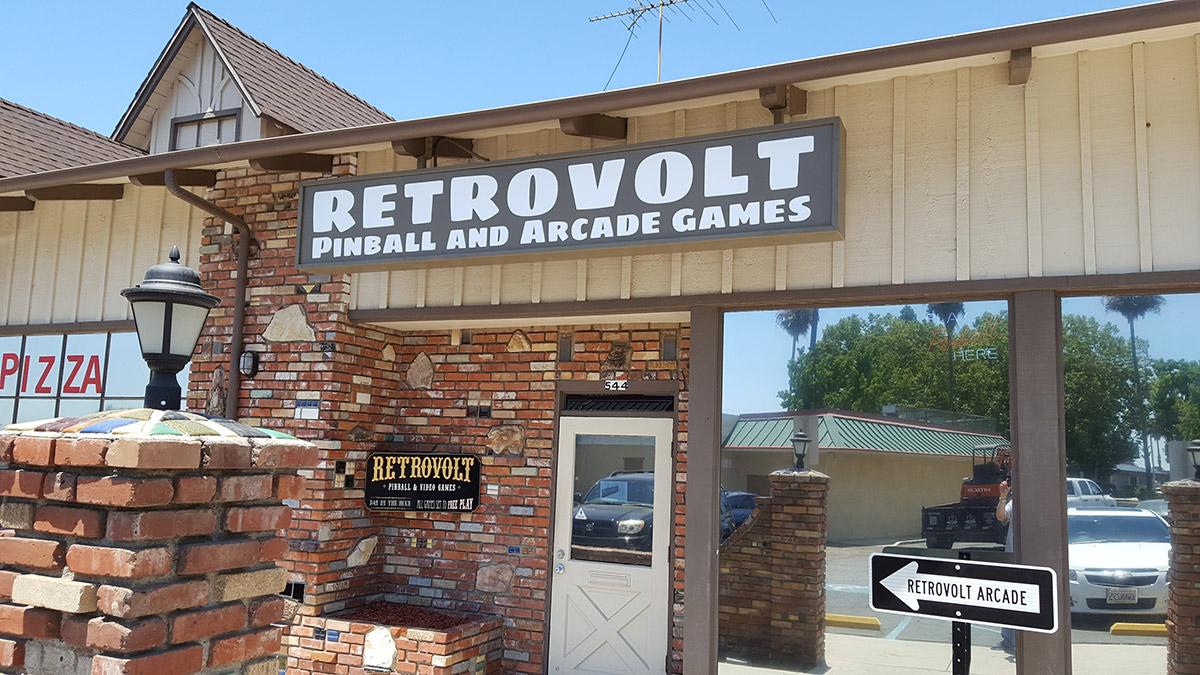 The Retrovolt Arcade in Calimesa