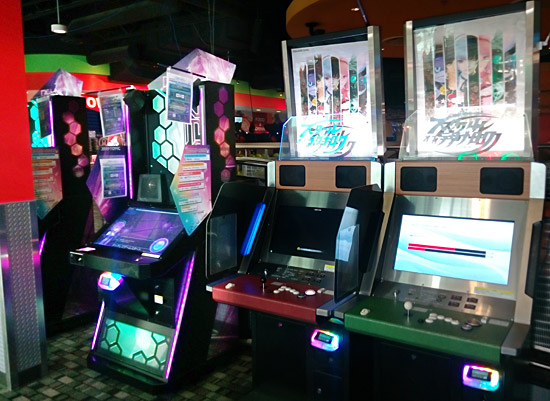 Some of the Japanese games