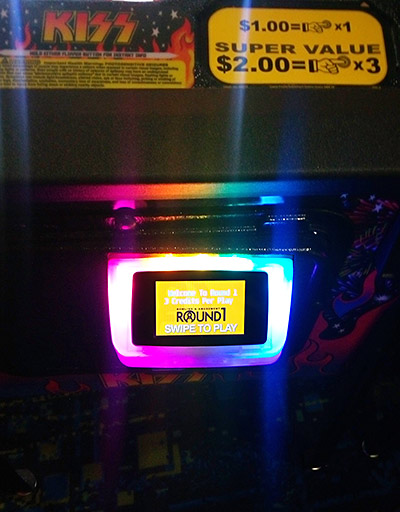 The card reader fitted to every game