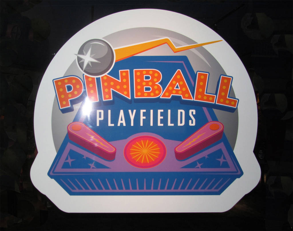 The Pinball Playfields exhibit