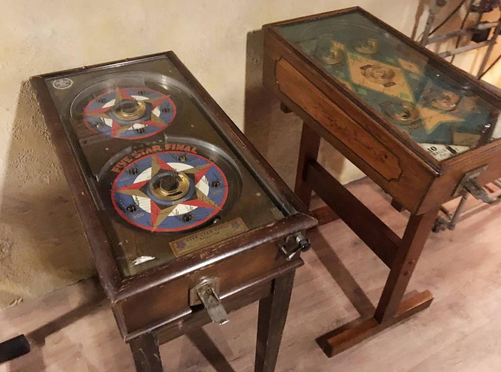 Pre-flipper games