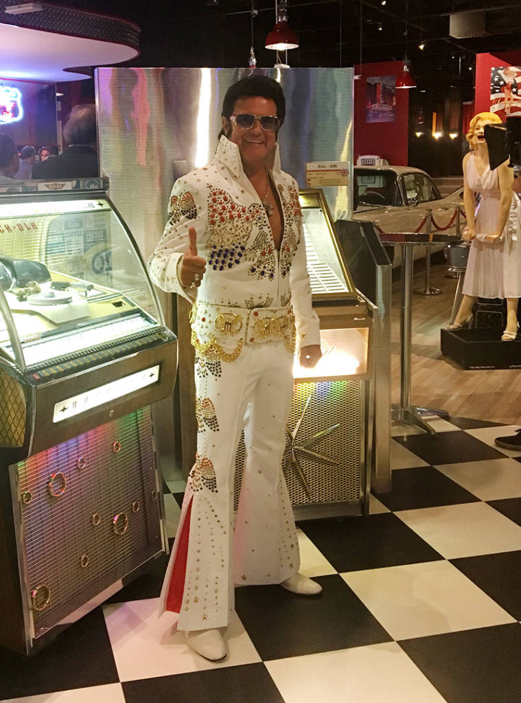A warm welcome awaits from Elvis tribute act, Rusty