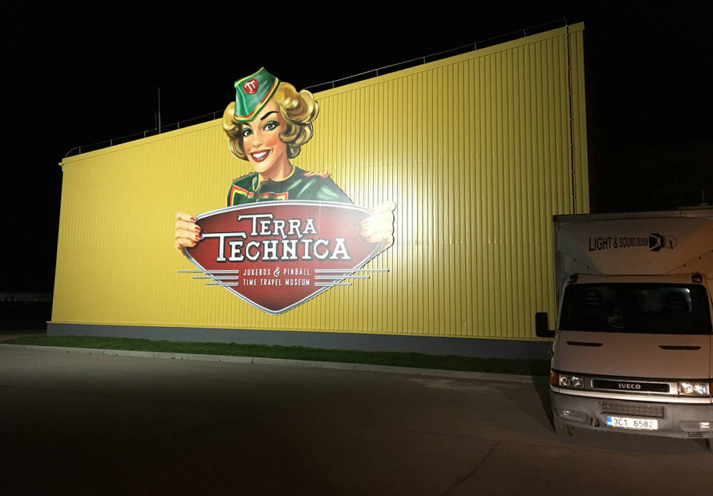 Terra Technica at night