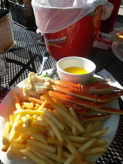 Crab Legs - it must be Tuesday