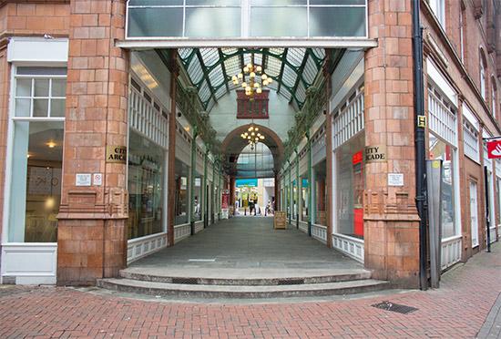 City Arcade, Birmingham