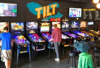 Tilt Pinball Bar in Minneapolis, Minnesota