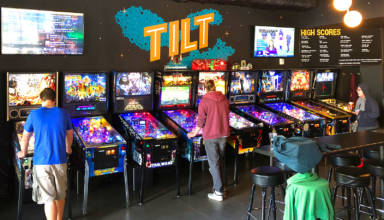 Tilt Pinball Bar in Minneapolis, Minnesota