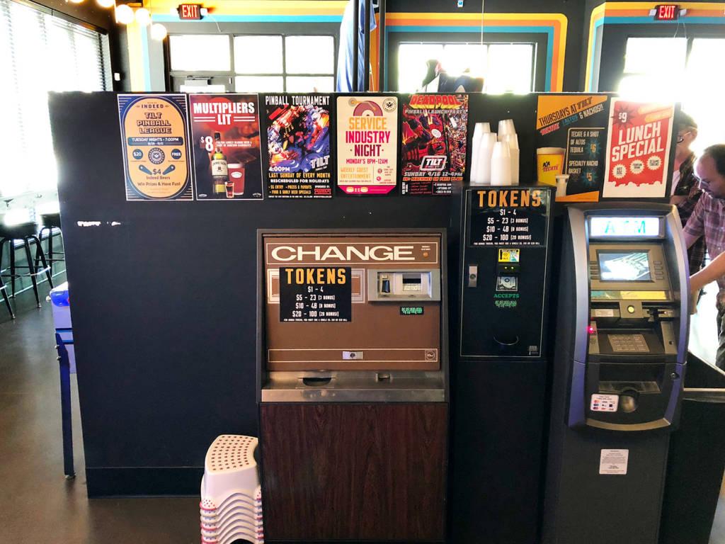 Token machines