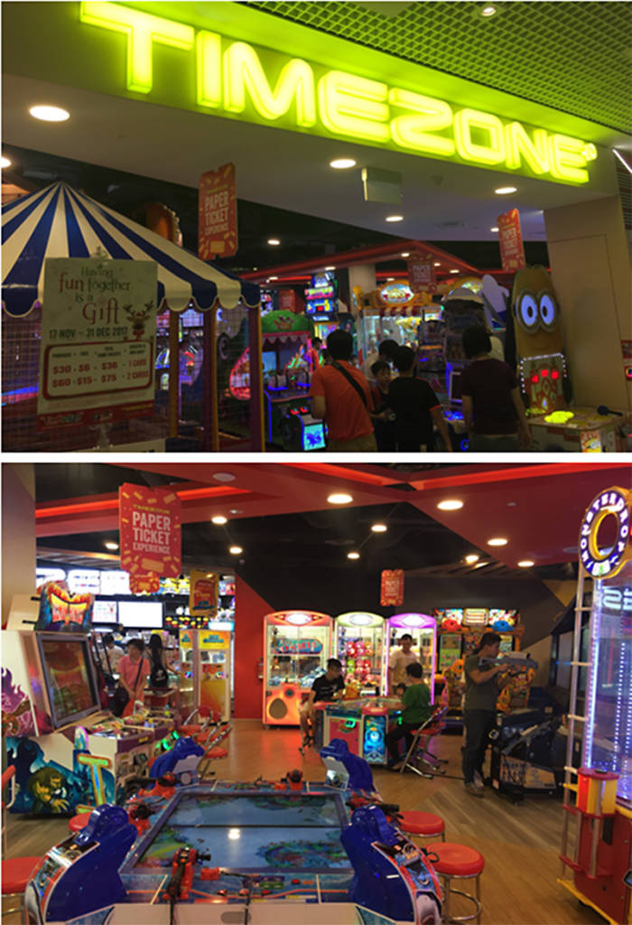 Timezone at City Square
