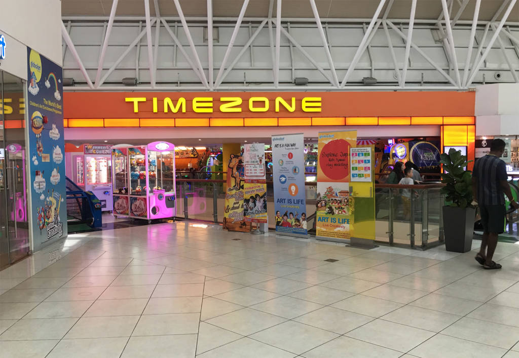 Timezone at Westgate mall