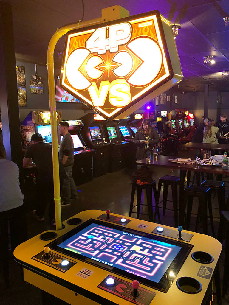 Four-player Pac-Man