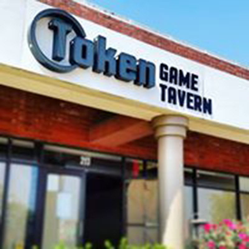 Token Game Tavern's exterior