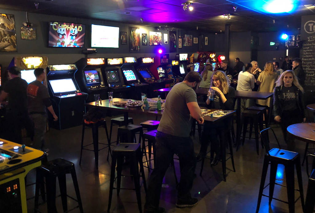 Inside Token Game Tavern